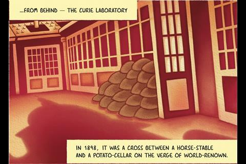 IYPT Comic – Radium - Frame 3